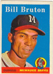 1959 Topps Baseball Cards      165     Bill Bruton
