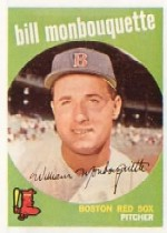 1959 Topps Baseball Cards      173     Bill Monbouquette RC