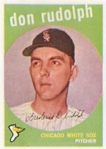 1959 Topps Baseball Cards      179     Don Rudolph