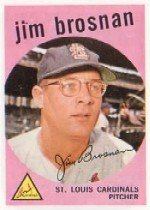 1959 Topps Baseball Cards      194     Jim Brosnan