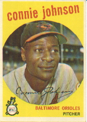 1959 Topps Baseball Cards      021      Connie Johnson