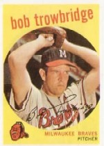 1959 Topps Baseball Cards      239     Bob Trowbridge WB