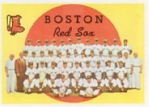 1959 Topps Baseball Cards      248     Boston Red Sox CL WB