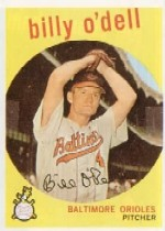 1959 Topps Baseball Cards      250     Billy O Dell WB