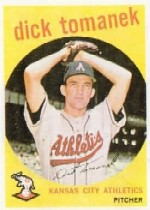 1959 Topps Baseball Cards      369     Dick Tomanek