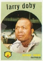 1959 Topps Baseball Cards      455     Larry Doby