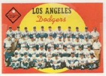 1959 Topps Baseball Cards      457     Los Angeles Dodgers CL