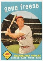 1959 Topps Baseball Cards      472     Gene Freese