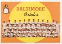 1959 Topps Baseball Cards      048      Baltimore Orioles CL