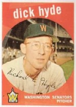 1959 Topps Baseball Cards      498     Dick Hyde