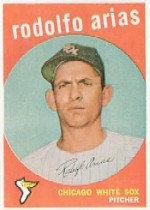 1959 Topps Baseball Cards      537     Rudolph Arias RC