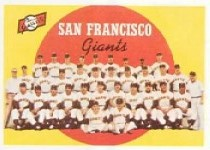 1959 Topps Baseball Cards      069      San Francisco Giants CL