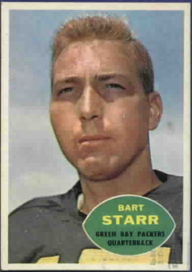 1960 Topps Football Cards