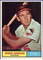 1961 Topps Baseball Cards      010      Brooks Robinson