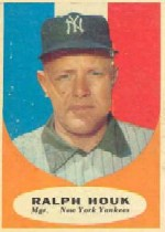 1961 Topps Baseball Cards      133     Ralph Houk MG