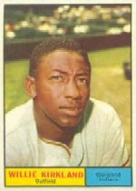 1961 Topps Baseball Cards      015      Willie Kirkland