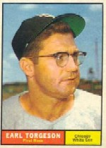 1961 Topps Baseball Cards      152     Earl Torgeson