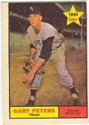 1961 Topps Baseball Cards      303     Gary Peters