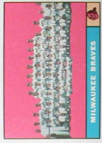 1961 Topps Baseball Cards      426     Milwaukee Braves TC-(Back numbered 463)