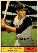 1961 Topps Baseball Cards      430     Bill Mazeroski SP