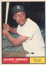 1961 Topps Baseball Cards      495     Elston Howard
