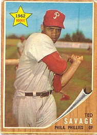 1962 Topps      104     Ted Savage RC