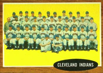 1962 Topps      537     Cleveland Indians TC