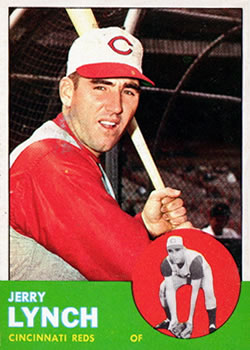 1963 Topps Baseball Cards      037      Jerry Lynch
