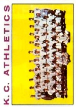 1964 Topps Baseball Cards      151     Kansas City Athletics TC