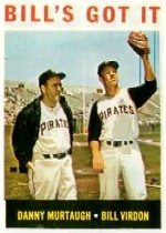 1964 Topps Baseball Cards      268     Bill s Got It-Danny Murtaugh MG-Bill Virdon