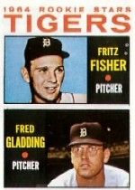 1964 Topps Baseball Cards      312     Rookie Stars-Fritz Fisher RC-Fred Gladding RC
