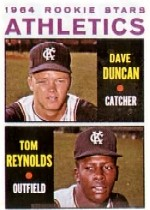 1964 Topps Baseball Cards      528     Rookie Stars-Dave Duncan RC-Tommie Reynolds RC