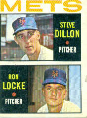 1964 Topps Baseball Cards      556     Rookie Stars-Steve Dillon RC-Ron Locke RC