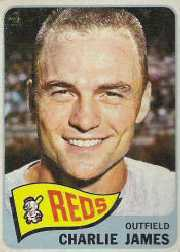 1965 Topps Baseball Cards      141     Charlie James