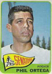 1965 Topps Baseball Cards      152     Phil Ortega