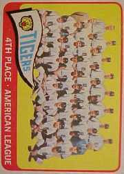 1965 Topps Baseball Cards      173     Detroit Tigers TC