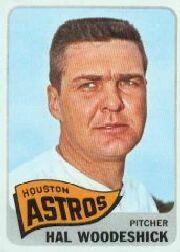 1965 Topps Baseball Cards      179     Hal Woodeshick