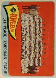 1965 Topps Baseball Cards      293     Los Angeles Angels TC