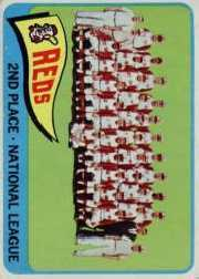 1965 Topps Baseball Cards      316     Cincinnati Reds TC