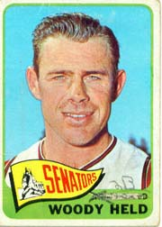 1965 Topps Baseball Cards      336     Woody Held