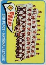 1965 Topps Baseball Cards      338     Philadelphia Phillies TC