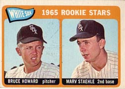 1965 Topps Baseball Cards      041      Rookie Stars-Bruce Howard-Marv Staehle RC