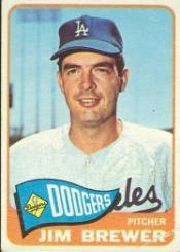 1965 Topps Baseball Cards      416     Jim Brewer