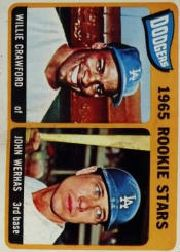 1965 Topps Baseball Cards      453     Rookie Stars-Willie Crawford RC-John Werhas