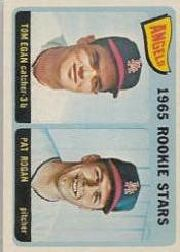 1965 Topps Baseball Cards      486     Rookie Stars-Tom Egan RC-Pat Rogan RC