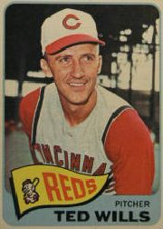 1965 Topps Baseball Cards      488     Ted Wills
