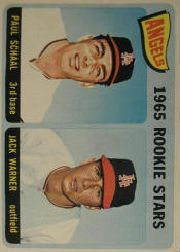 1965 Topps Baseball Cards      517     Rookie Stars-Paul Schaal RC-Jack Warner