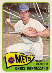 1965 Topps Baseball Cards      061      Chris Cannizzaro