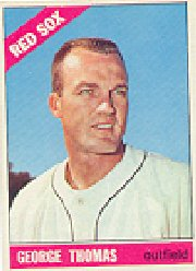 1966 Topps Baseball Cards      277     George Thomas