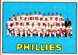 1967 Topps Baseball Cards      102     Philadelphia Phillies TC